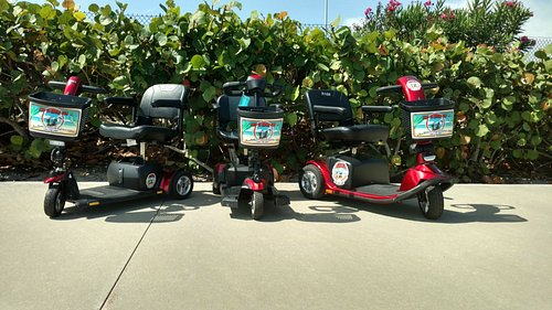Port Canaverals original and still the best Mobility Scooter rental company