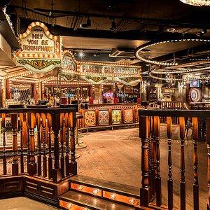 A sneak peek of our beautiful Carousel bar