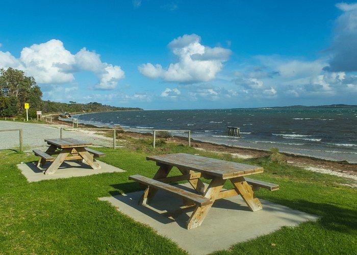 Shallow Inlet Caravan Park boating and fishing marine park