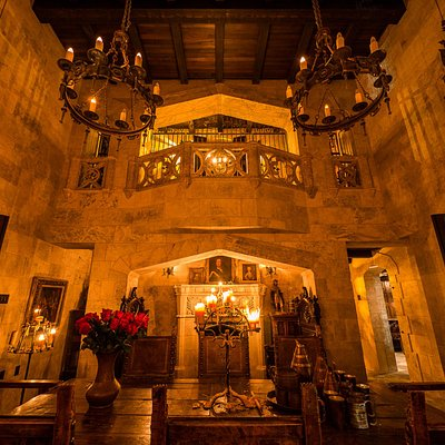 The Amazing Great Hall at night
