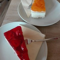 Erdbeer und Mandarine  hmmm lecker