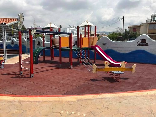 Safe playground for all kids.