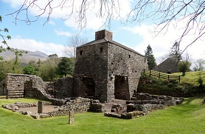 The furnace and bellow house