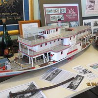 Ruby - Just one of the intricate models on display