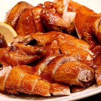 香蒜脆皮雞