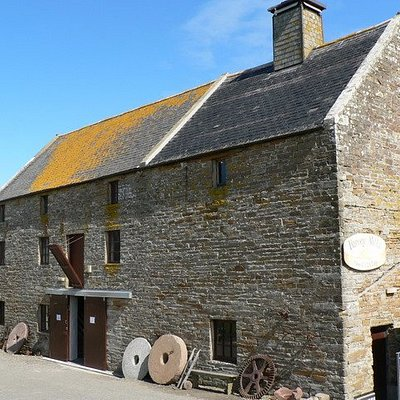 Barony Mill, Orkney's last working water mill. Home of Orkney beremeal since 1873