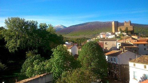 Foto del Moncayo desde la hbitacion del ático