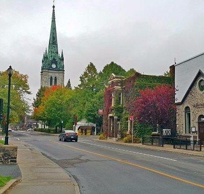 Histórica e pacata cidadezinha de Trois-Riviére