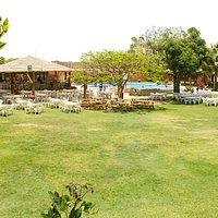 Vista panorámica del restaurante campestre rey sol