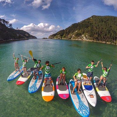 Experiencias y rutas de Stand Up Paddle Surf por la costa, rías, ríos y lagos de montaña