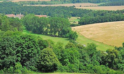 Cadre et paysage autour du Relais saint-Michel