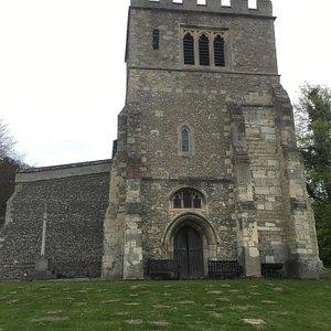 Parish church; Sunday afternoon cream tea