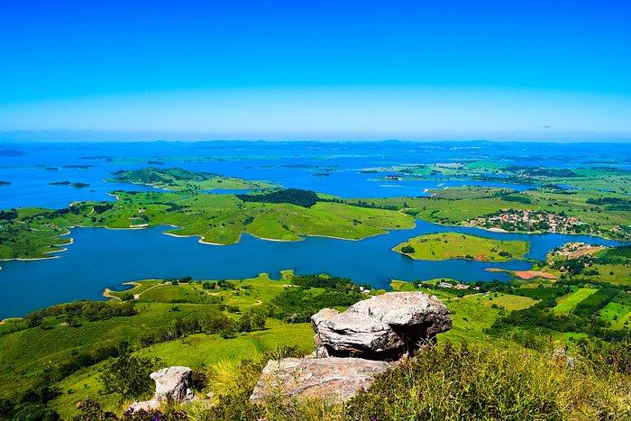 Vista do Morro do Gavião