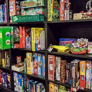The ever growing games library!
