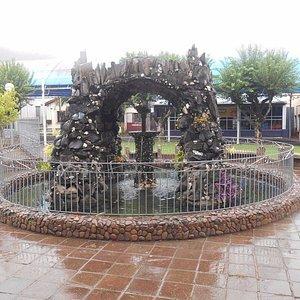 Praça Matriz de Muçum: chafariz