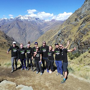 On the way to Machu Picchu