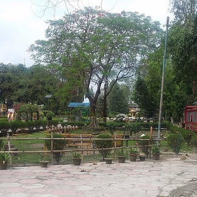 toy train at Surya Sen Park