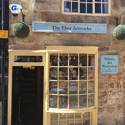 Beautiful, quirky and atmospheric little shop. Stunning Whitby Jet jewellery made on the premise