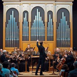 Кубанский симфонический оркестр. Дирижер - Денис Ивенский