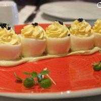 Huevos Trufados.