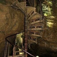 1912 Iron Staircase