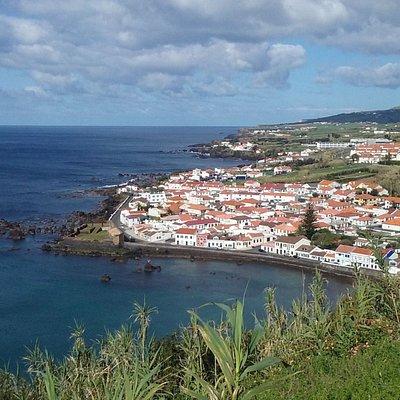 Forte de Sao Sebastiao seen from Monte Queimado