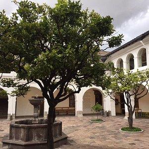 Jardín de los Naranjos, Convento del Carmen Alto, Quito, Ecuador