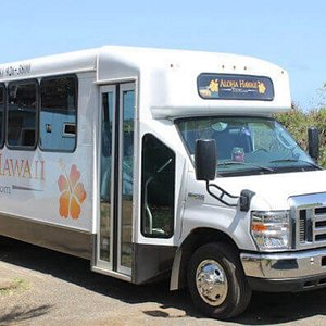Aloha Hawaii Tours feature 6 brand new buses for our visitors comfort and enjoyment