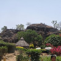 Long Shot of Pandava caves