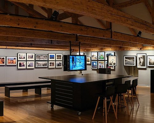 'The End of Yugoslavia' permanent exhibit 2nd floor at War Photo Limited