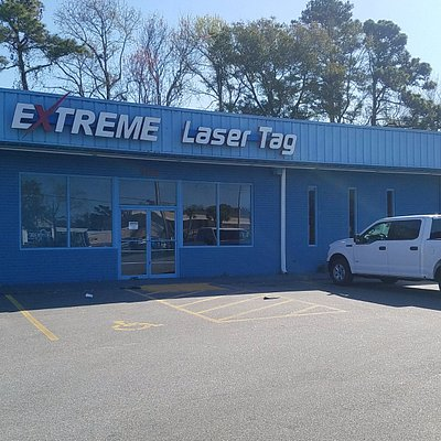Outside of the laser tag in Myrtle Beach, now reopen under ULTRAZONE Extreme Laser Tag