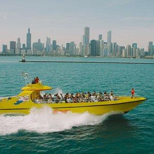Seadog Lakefront Speedboat Ride Chicago
