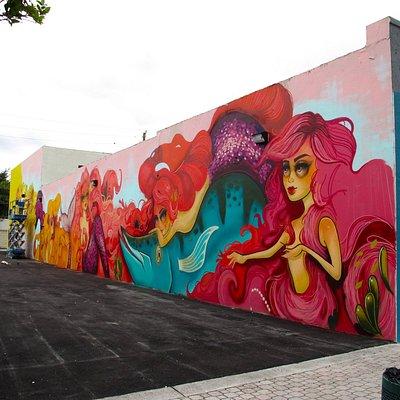 Tati Suarez Mural on Harrison Street