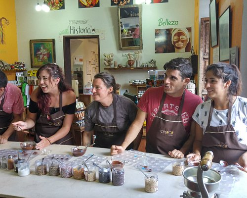 """""""From bean to bar"""" workshop. Come and learn how to make chocolate!"""
