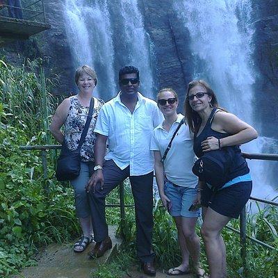 Nea the Ramboda Falls