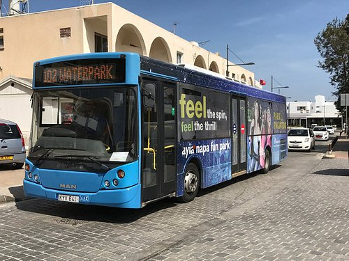 typical tyoe of modern bus april 2017