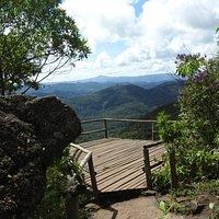 Mirante na vertente de Monte Verde