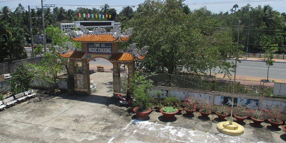Photo prise par guythu-dudelta_23570_170369_Vue du 1er étage_Tịnh Xá Ngọc Chưởng_Vị Thanh_VN