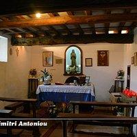 La cappella dedicata a Santa Maria Goretti