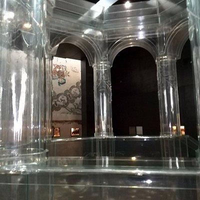 The magnificent glass bima