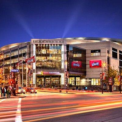 Quicken Loans Arena back ground