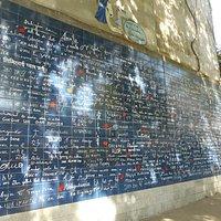 Общий вид Стены любви