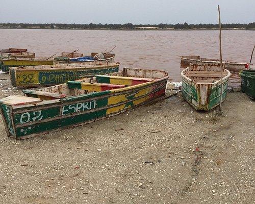 Le lac Rose découvert avec Diokel Faye