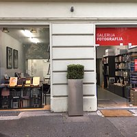 gallery for fine art photography and a bookshop with good coffee and cookies