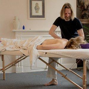 Massage in central Bath, UK
