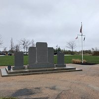 a full view of the memorial