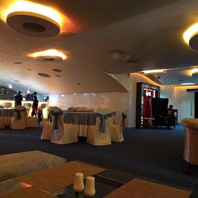The lobby at Cinedine