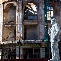 Памятник Ленину в Зеленоградске