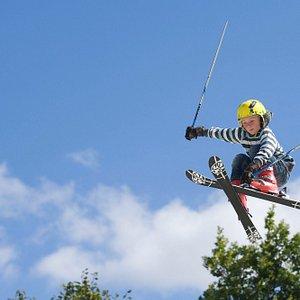 Ski Jumps at Norfolk Snowsports Club