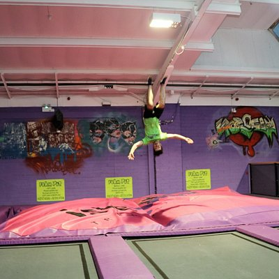 islejump trampoline park, isle of wight